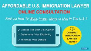 Affordable U.S. Immigration Lawyer Online Consultation.