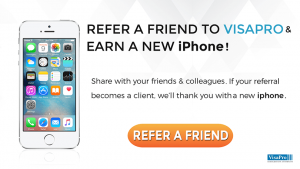 Refer A Friend To VisaPro And Win A New iPhone!
