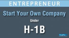 Starting A Company On H1B Visa AS A Entrepreneur.