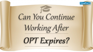How To Continue Work Even After OPT Expires.