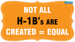 Are All The H1B's Created Equal.