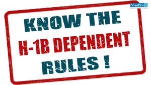 Additional Rules Apply To H1B Dependent Employer.