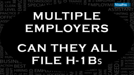 Can Multiple Employers File H1B's.