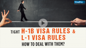 How To Deal With New L1 Visa Rules And H1B Visa Rules 2015?