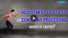 Adjustment of Status or Consular Processing: Find Out The Best Option For Your Situation.