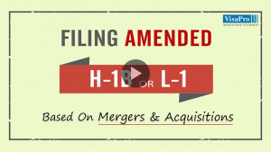 All About Filing Amended H1B or L1 Petition.