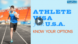 Professional Athlete Visa For USA.