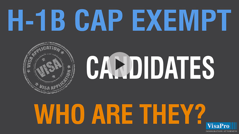 How To Find, Qualify And Hire H1B Cap Exempt Candidates.