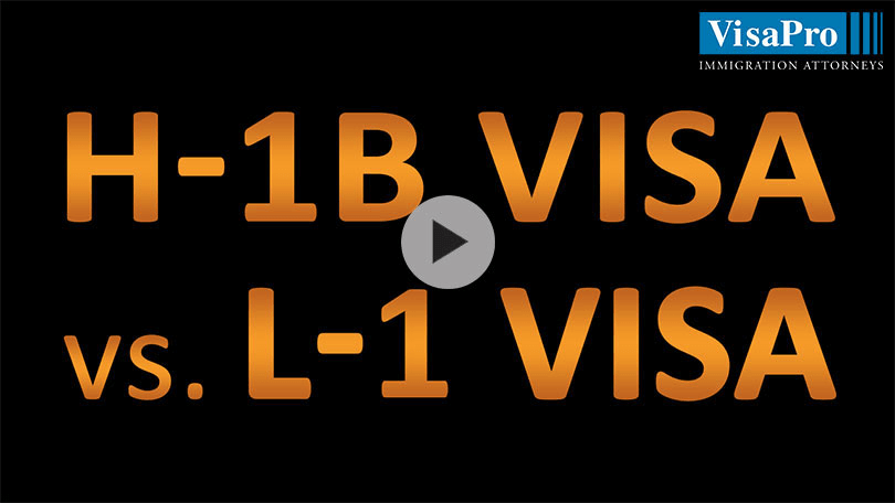 H1B vs L1: Which Is Better?
