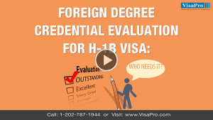 What Is Education Evaluation For H1B Visa?