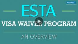 An Overview On ESTA Visa Waiver Program.