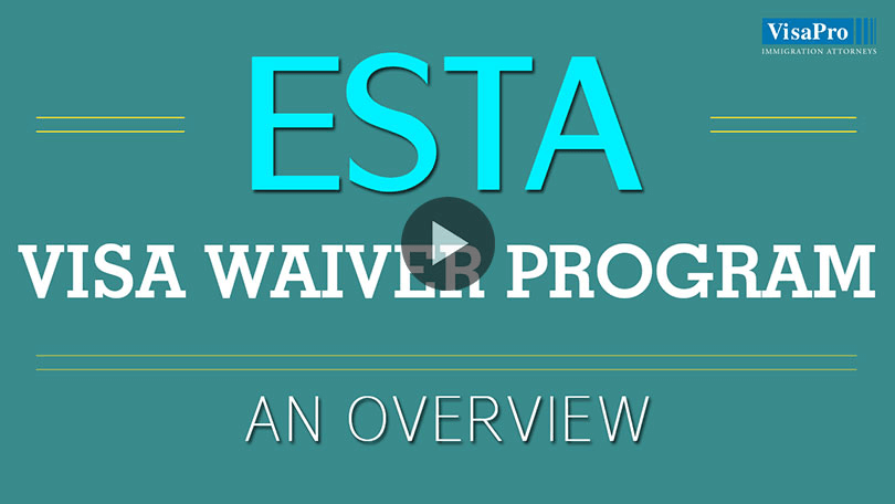 An Overview On ESTA Visa Waiver Program.