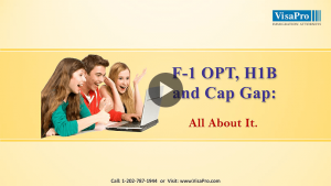 How To Successfully Change Status From F1 OPT To H1B?