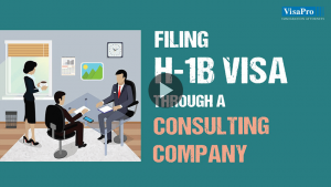 Who Can Apply For H1B Visa Through A Consulting Company?