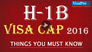 Learn All About USCIS H1B Cap 2016 Filing Strategy.