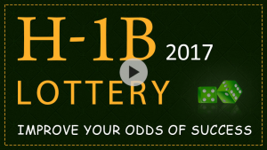 Improve Your Odds Of Success In H1B Visa 2017 Lottery.