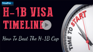Follow H1B Visa Timeline To Ensure Successful Filing.