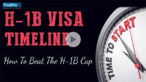 Follow H1B Visa Timeline To Ensure Successful Filing.