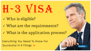 All About H3 Visa Requirements & Procedures.