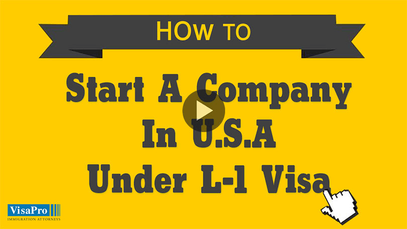 How To Register A Company In USA Under L1 Visa?