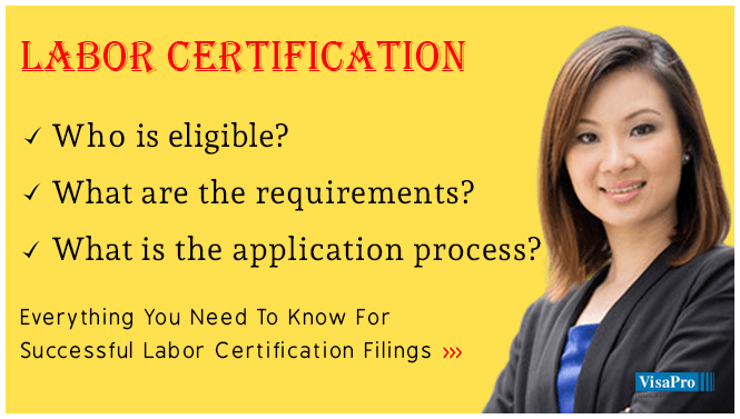 PERM Labor Certification Process And Documents Checklist