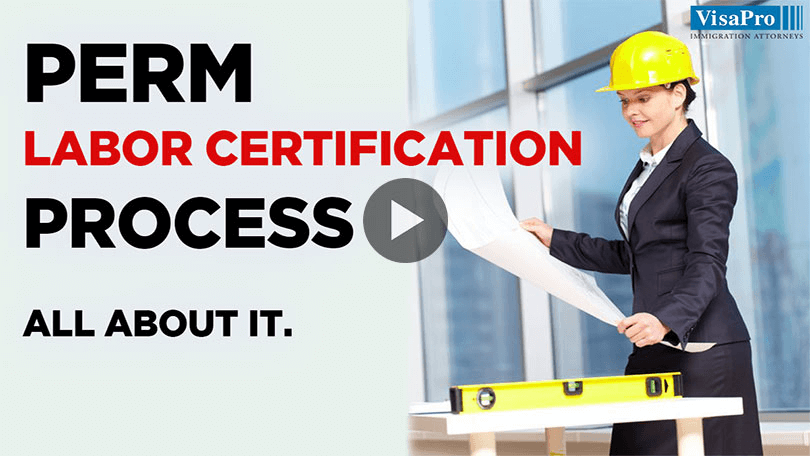 Application For Permanent Labor Certification Process.