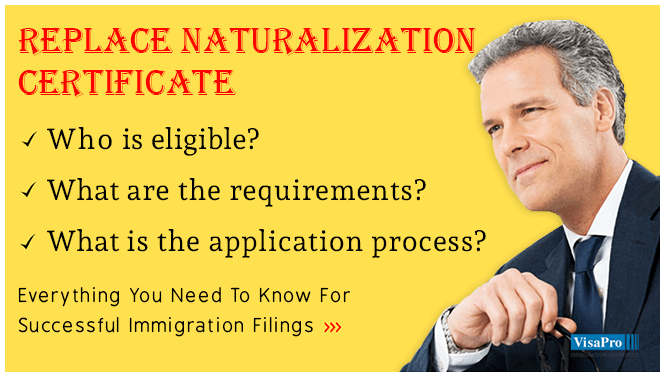 Replace Naturalization Certificate Requirements And Eligibility