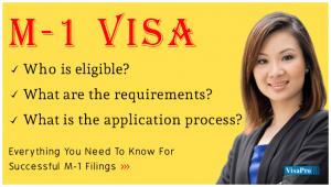 USA M1 Visa Application Process.