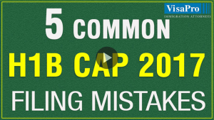 How To Overcome The 2016 H1B Cap Filing Mistakes.