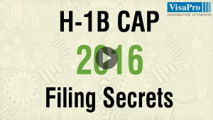 Learn All About USCIS H1B Cap 2016 filing secrets.