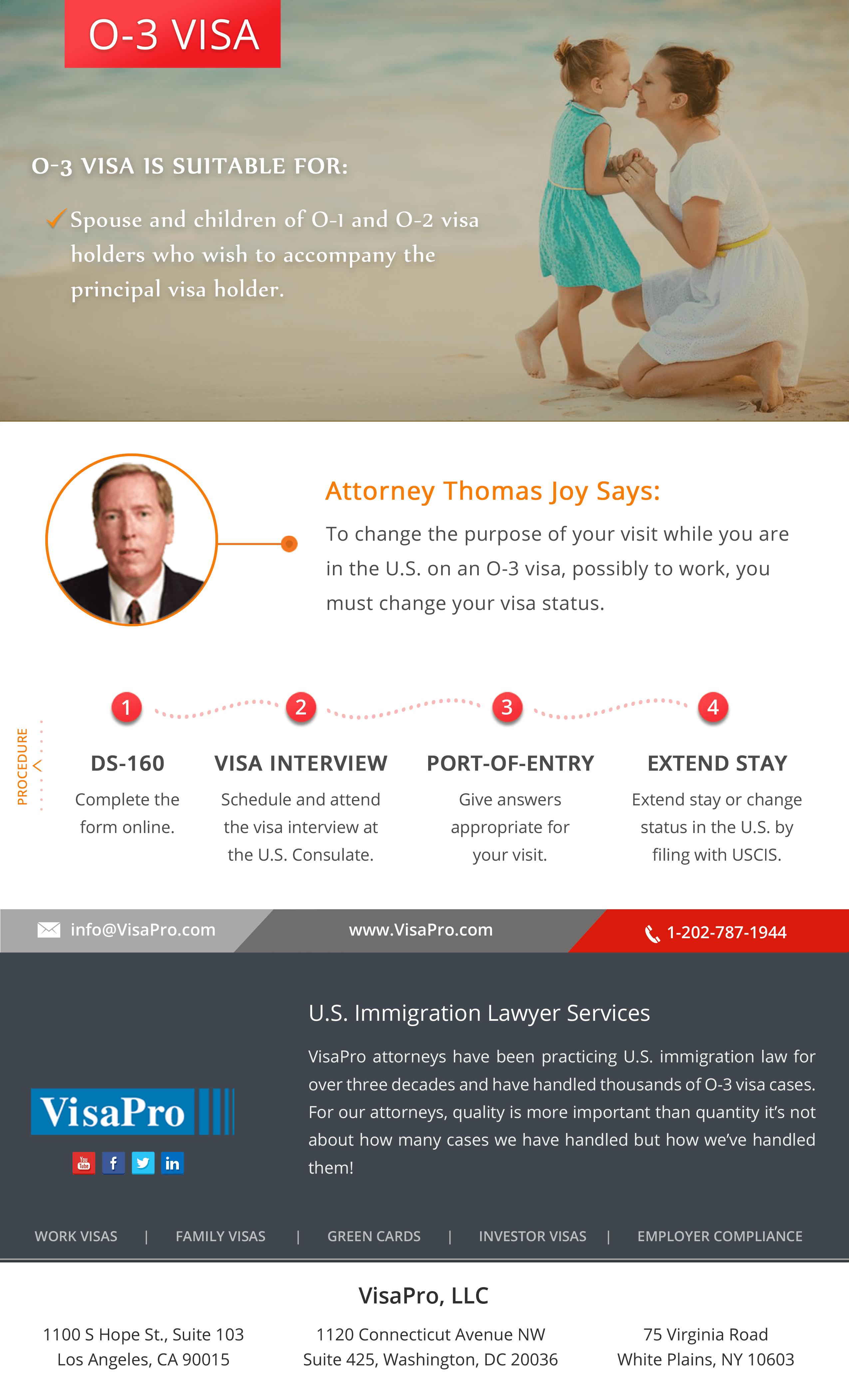 O3 Visa Work Permit - Follow these easy steps
