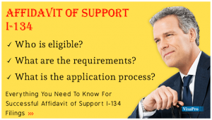 All About USCIS Form I-134 Affidavit of Support Instructions.