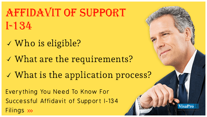 How To Fill I 134 Affidavit Of Support