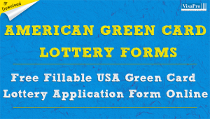 All About Free American Green Card Lottery Application Forms.