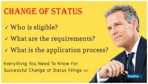 Application For Change of Status.