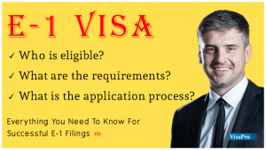Know About E1 Visa Processing Time.