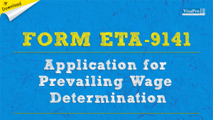 Download Free ETA Form 9141 Application For Previling Wage Determination Rates Instructions.