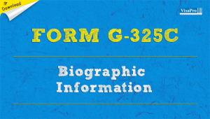 Download Free Form G-325C Biographic Information Instructions.
