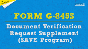 Download Free Form G-845S Instructions.