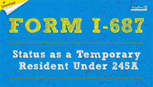 Download Free USCIS Form I-687 Instructions.