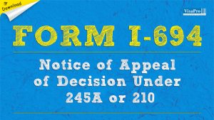 Download Free USCIS Form I-694 Special Instructions.