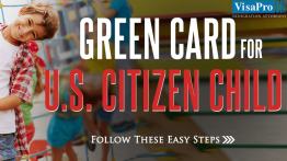 How To Get A Green Card For Child Of US Citizen?