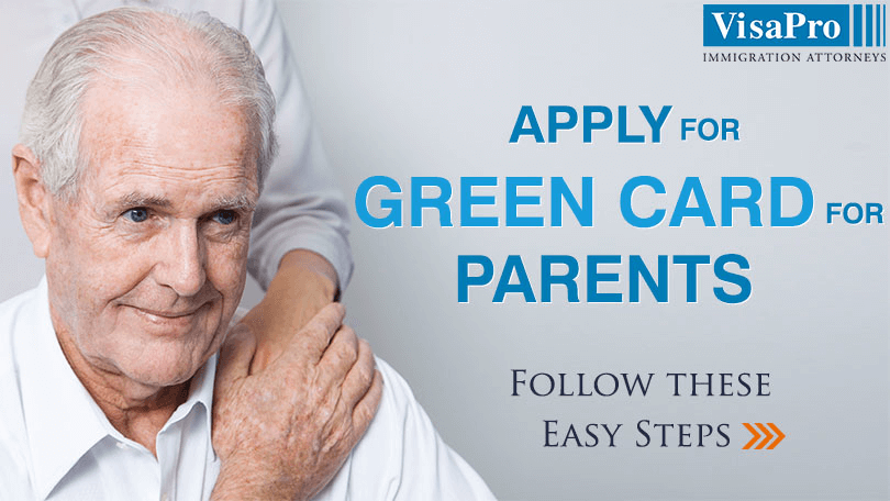 All About Applying Green Card For Parents Of US Citizens.