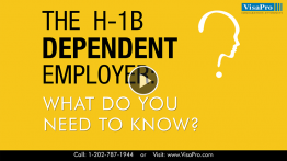 What Do You Know About H1B Dependent Employer?
