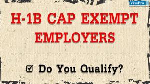 Top H1B Cap Exempt Employers