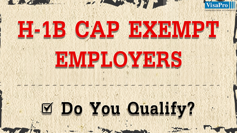 Top H1B Cap Exempt Employers