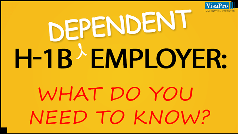 H1B Dependent Employer Requirements