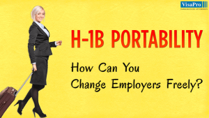 H1B Transfer Requirements For Employer Change