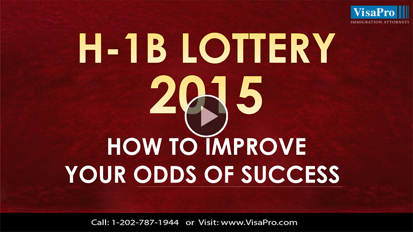 Know About H1B Visa 2015 Lottery Status.