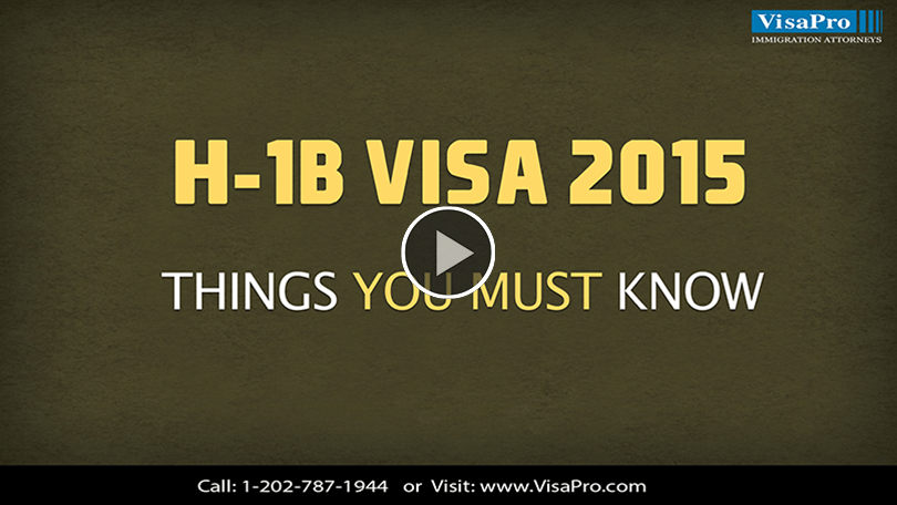 Find Out When H1B Visa Process Starts For 2015.